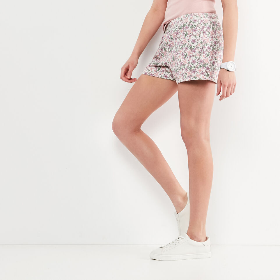 Roots-undefined-Floral Original Sweatshort-undefined-A