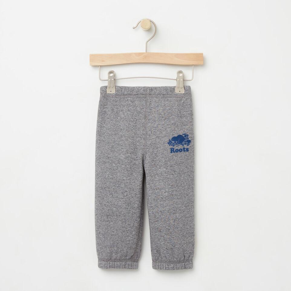 Roots-undefined-Bébés Pantalon Coton Ouaté Original-undefined-A