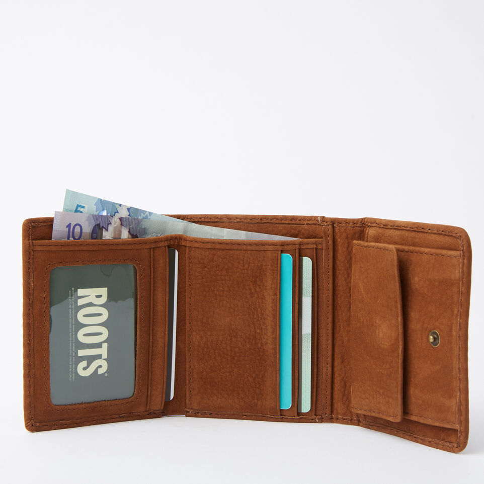 Roots-undefined-Easy Trifold Wallet Waterbuck-undefined-B