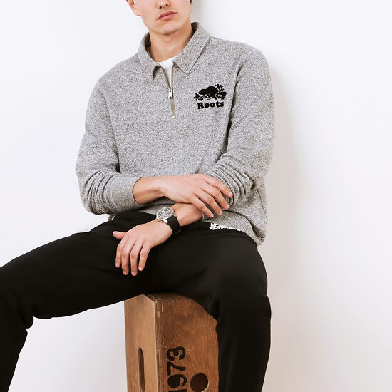 Roots - Roots Salt and Pepper Original Zip Polo