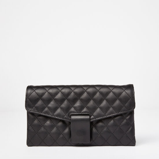 Roots - Chloe Clutch Quilted