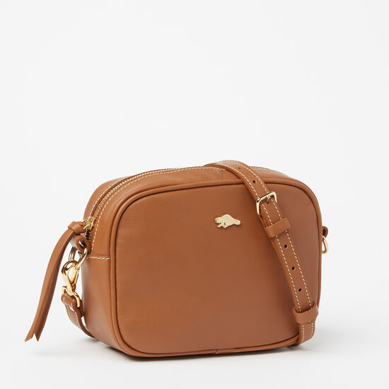 Roots-Leather New Arrivals-Lorna Bag Bridle-Tan-A