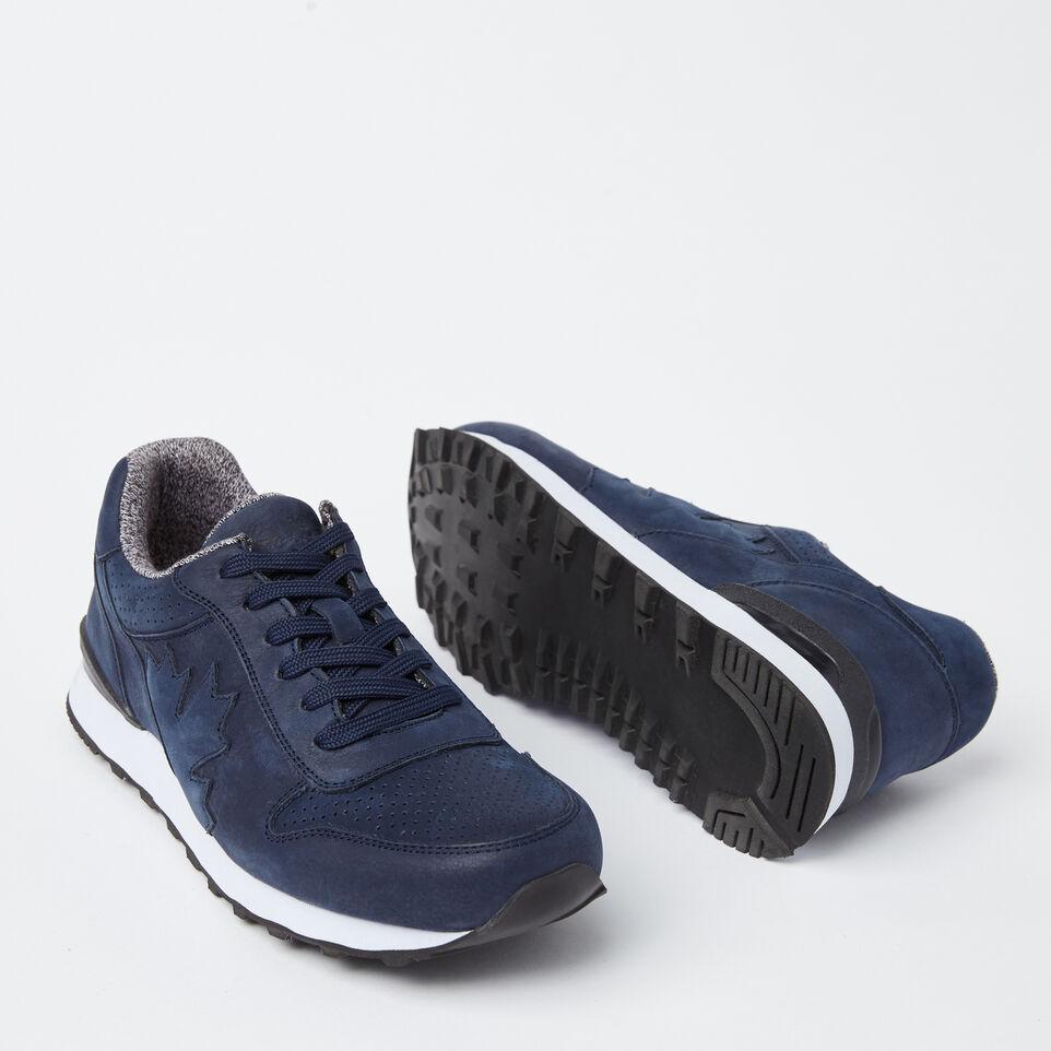 Roots-undefined-Chaussures de course Trans-Canadian en cuir Nubuck pour hommes-undefined-E