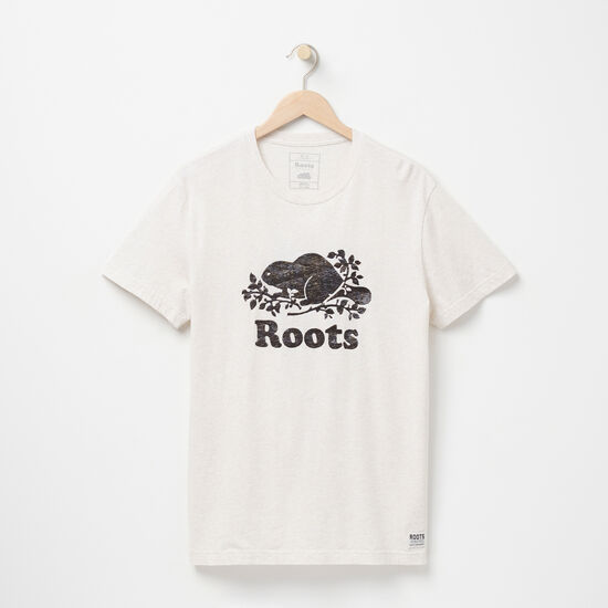 Roots-Men Graphic T-shirts-Cooper Beaver T-shirt-Wind Chime Mix-A