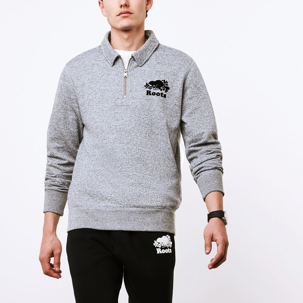 Roots-undefined-Polo Glissière Original Hommes-undefined-B
