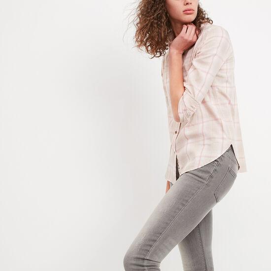 Roots-Women Shirts-Leanna Shirt-Dusty Blush-A