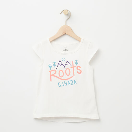 Roots-Kids Toddler Mix & Match 2 For $30-Toddler Juniper Folk Top-Cloudy White-A