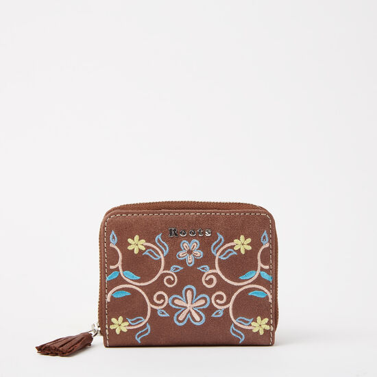 Roots - Small Floral Tassel Wallet Tribe