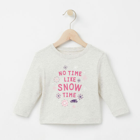 Roots - Baby Snow Time T-shirt