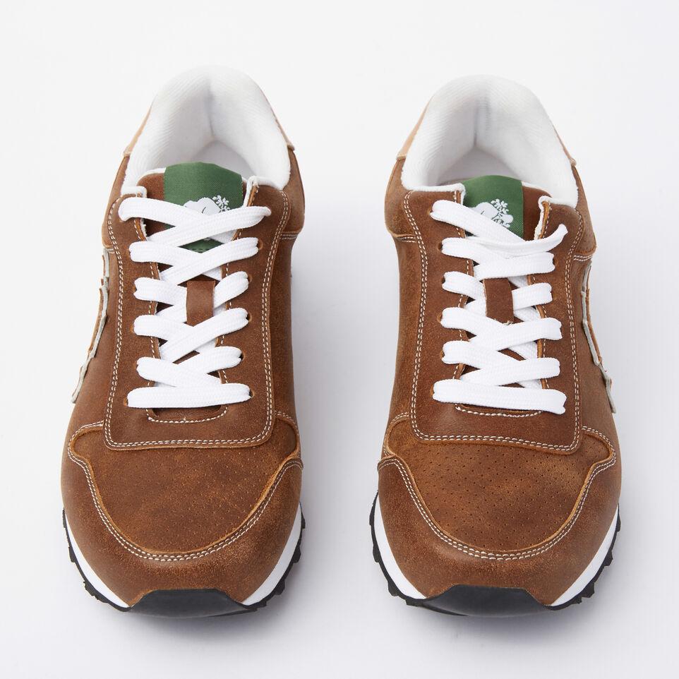 Roots-undefined-Chaussures de course Trans-Canadian en cuir Tribe pour hommes-undefined-C