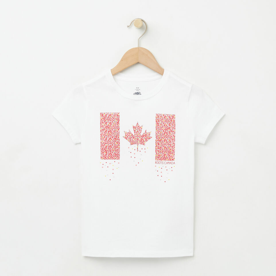 Roots-undefined-Filles T-shirt Confetti Canada-undefined-A