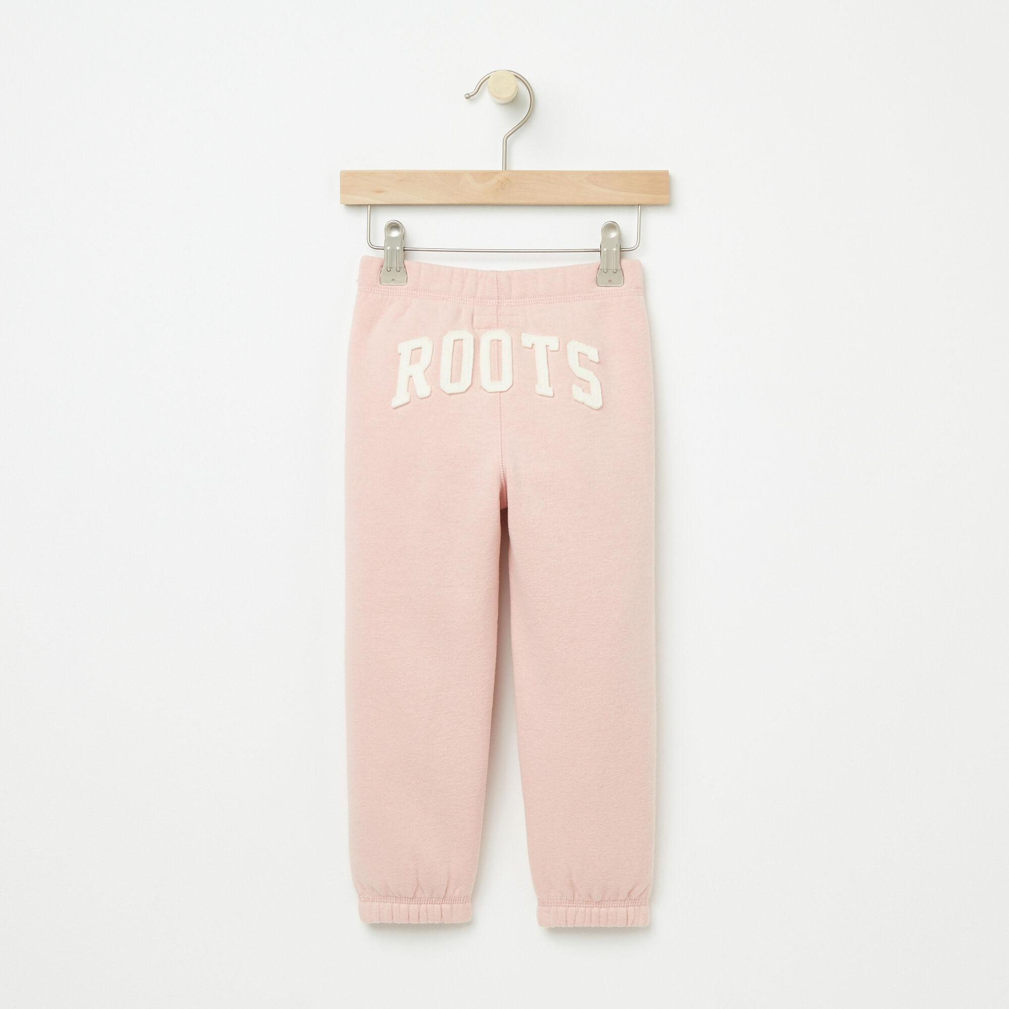 Tout-Petits Pant Ajusté Coton Ouaté Roots