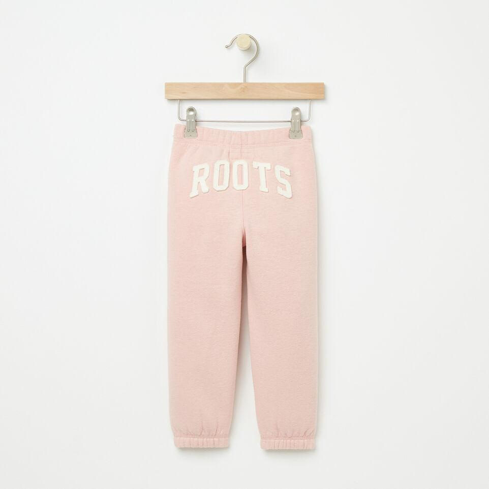 Roots-undefined-Tout-Petits Pant Ajusté Coton Ouaté Roots-undefined-B