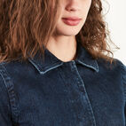 Roots-undefined-Manteau Drafting En Denim-undefined-D