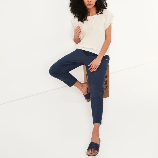 Roots-Women Pants-Pennywell Pant-Cascade Blue-A