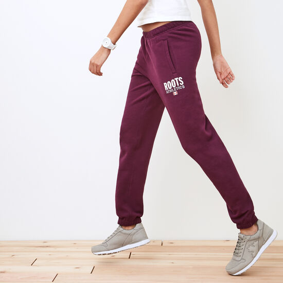Roots-Women Original Sweatpants-Roots Re-issue Sweatpant-Pickled Beet-A