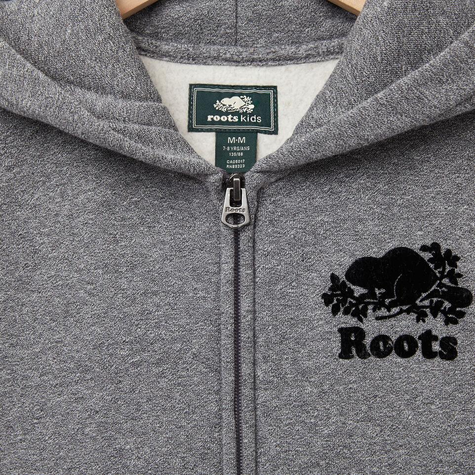 Roots-undefined-Garçons Chandail Capuchon À Glissière Sans Manches-undefined-C