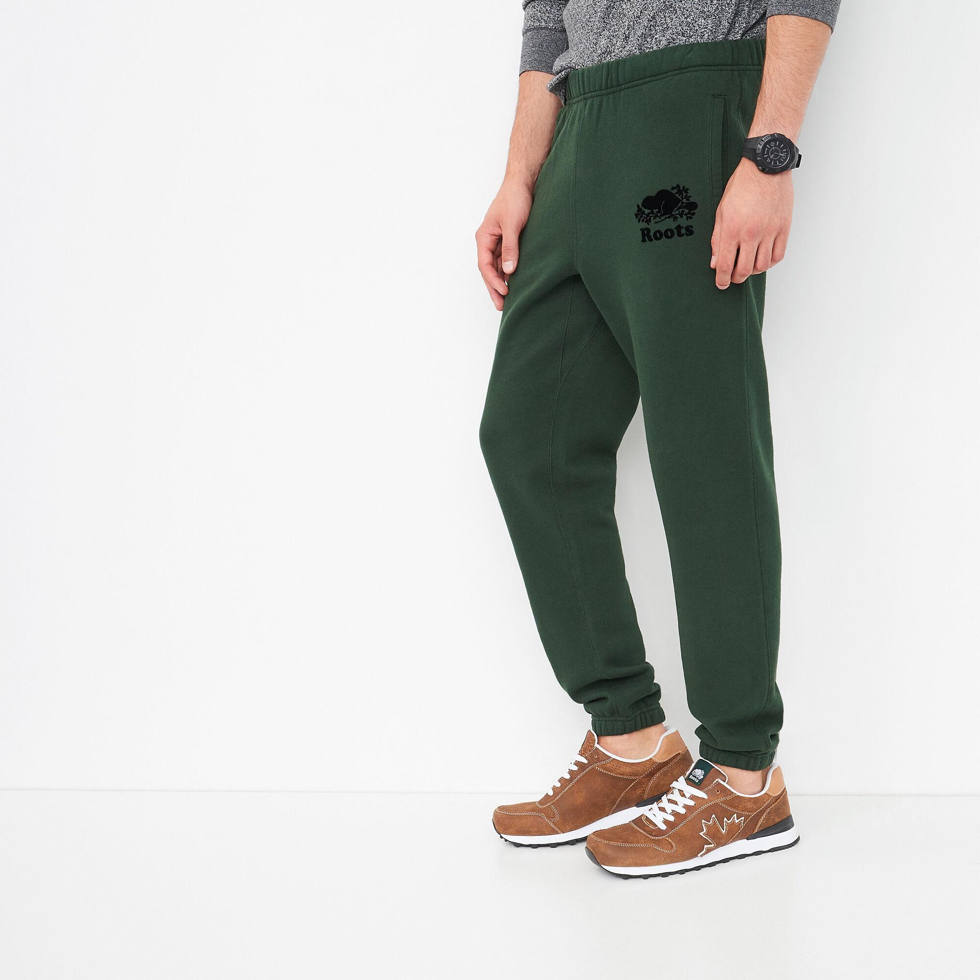 Pantalon Ajusté Coton Ouaté