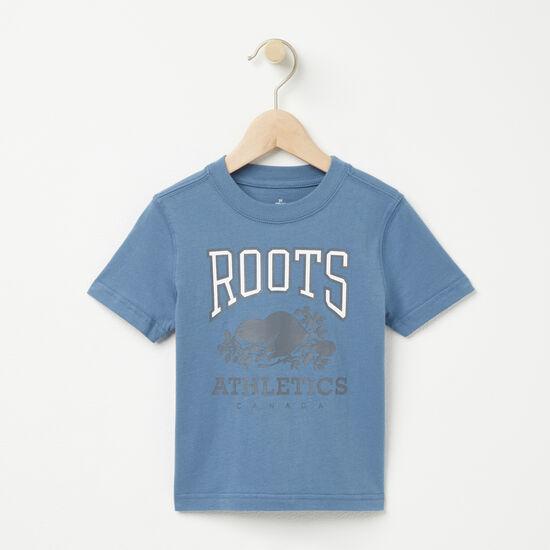 Roots-Kids T-shirts-Toddler RBA T-shirt-Copen Blue-A