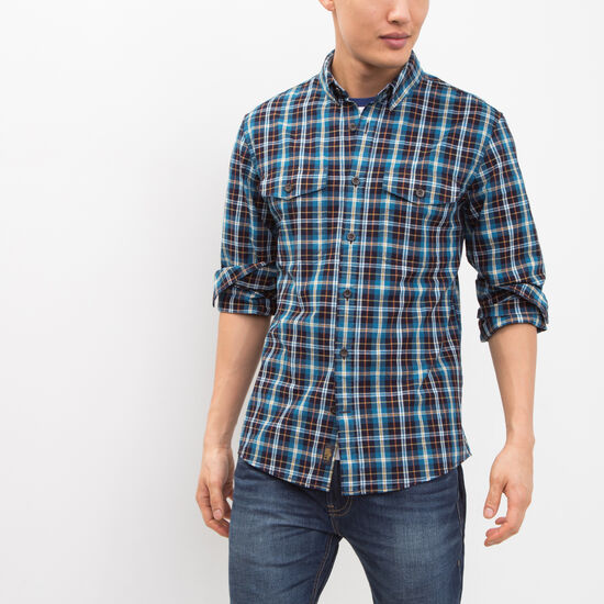 Roots - Manitou Indigo Plaid Shirt