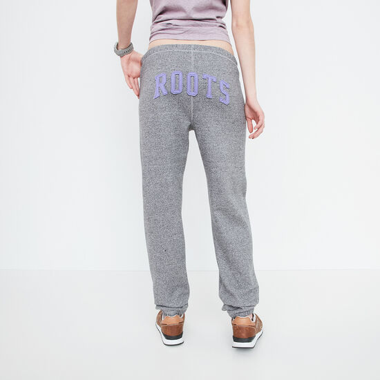 Roots-Women Bottoms-Roots Sweatpant-Salt & Pepper-A