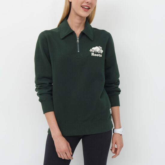 Roots - Pocket Boyfriend Zip Polo