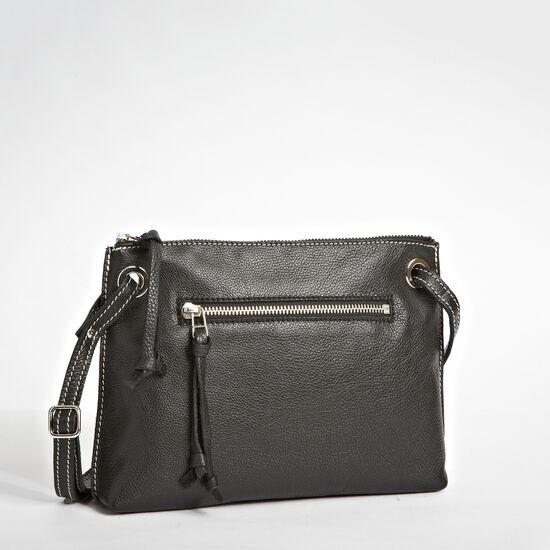 Roots-Leather Shoulder Bags-Edie Bag Prince-Black-A