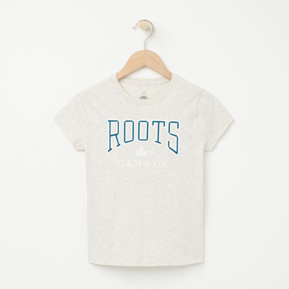 Roots-undefined-Filles T-shirt Érable Ella-undefined-A