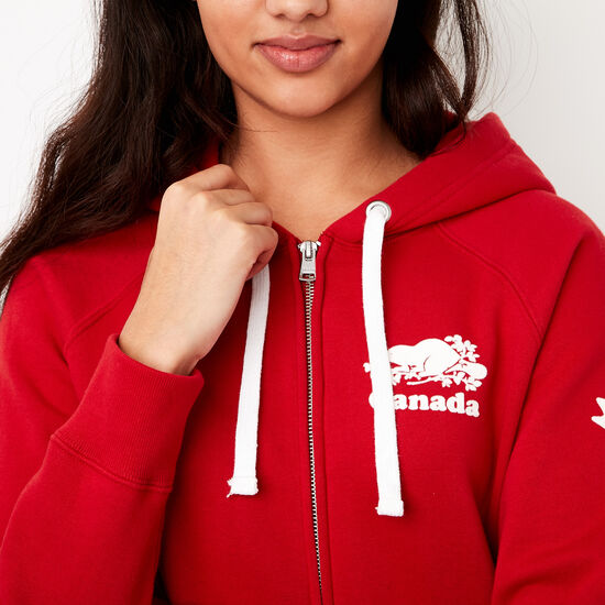 Womens Cooper Canada Full Zip Hoody