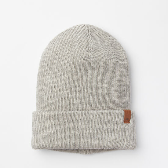 Roots-Men Hats-Vintage Rib Toque-White Grey Mix-A