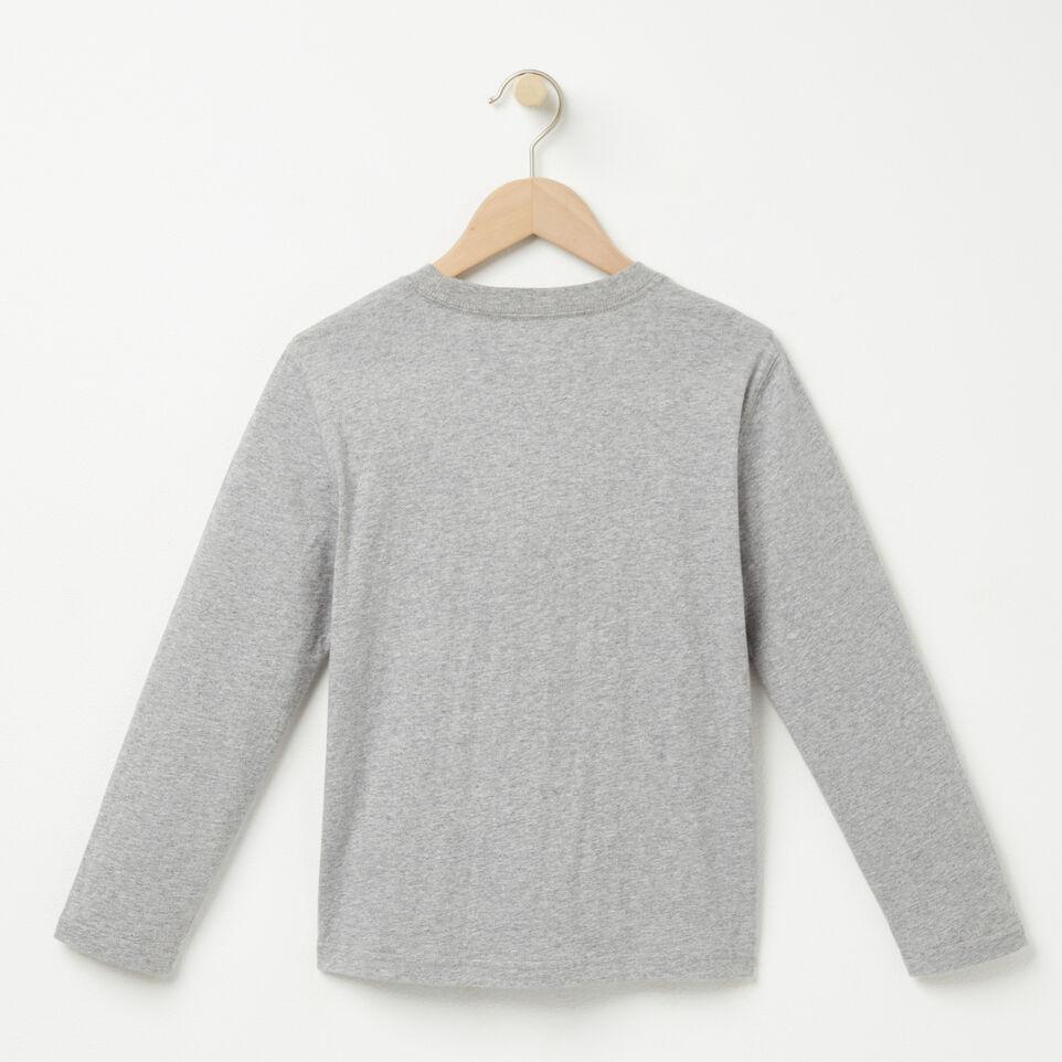 Roots-undefined-Garçons T-shirt Man Lng Cooper Beaver-undefined-B