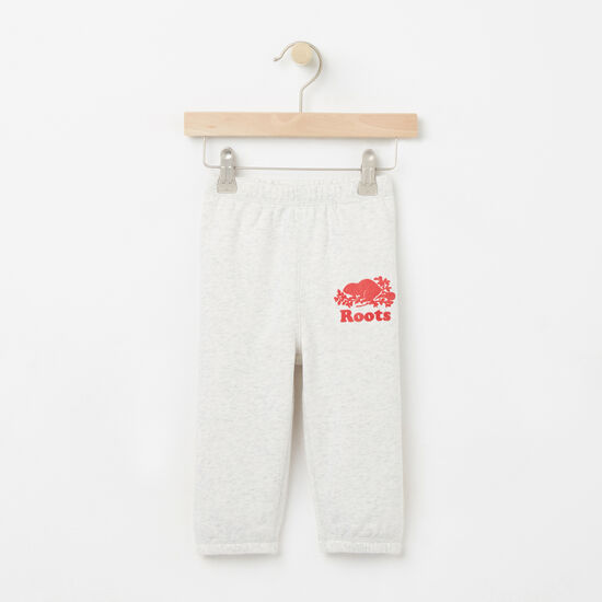 Roots-Kids Baby Girl-Baby Love Canada Original Sweatpant-Snowy Ice Mix-A