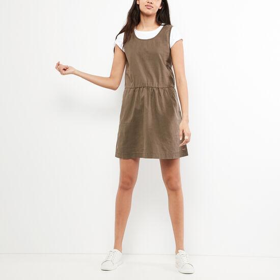 Roots-Women Dresses-Day Tripper Dress-Sea Turtle-A