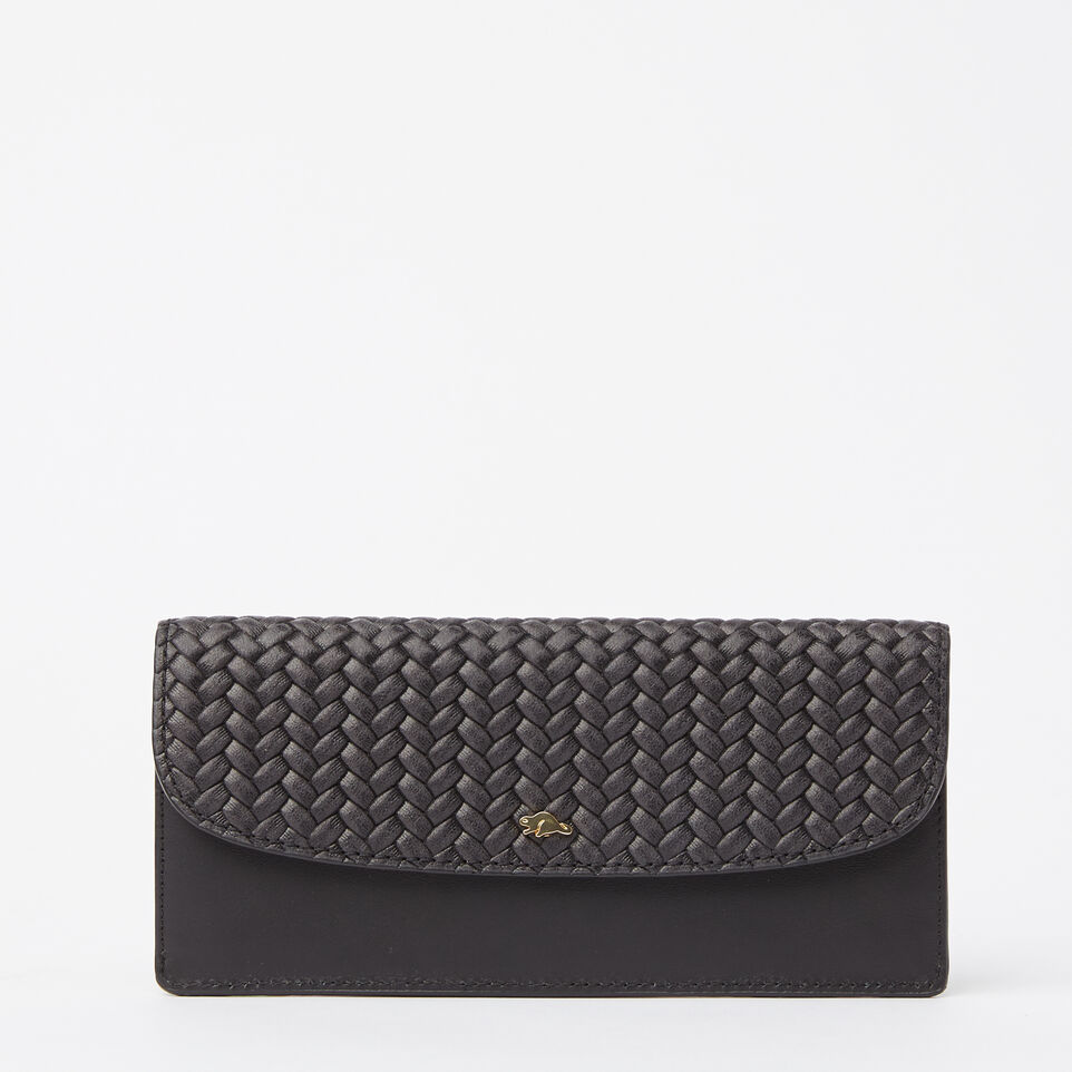 Roots-undefined-Slim Curve Wallet Woven-undefined-A