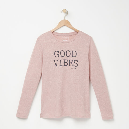 Roots-Women Graphic T-shirts-Hope T-shirt-Woodrose-A