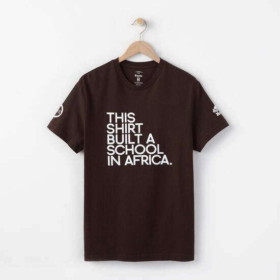 M Build A School In Africa T-shirt