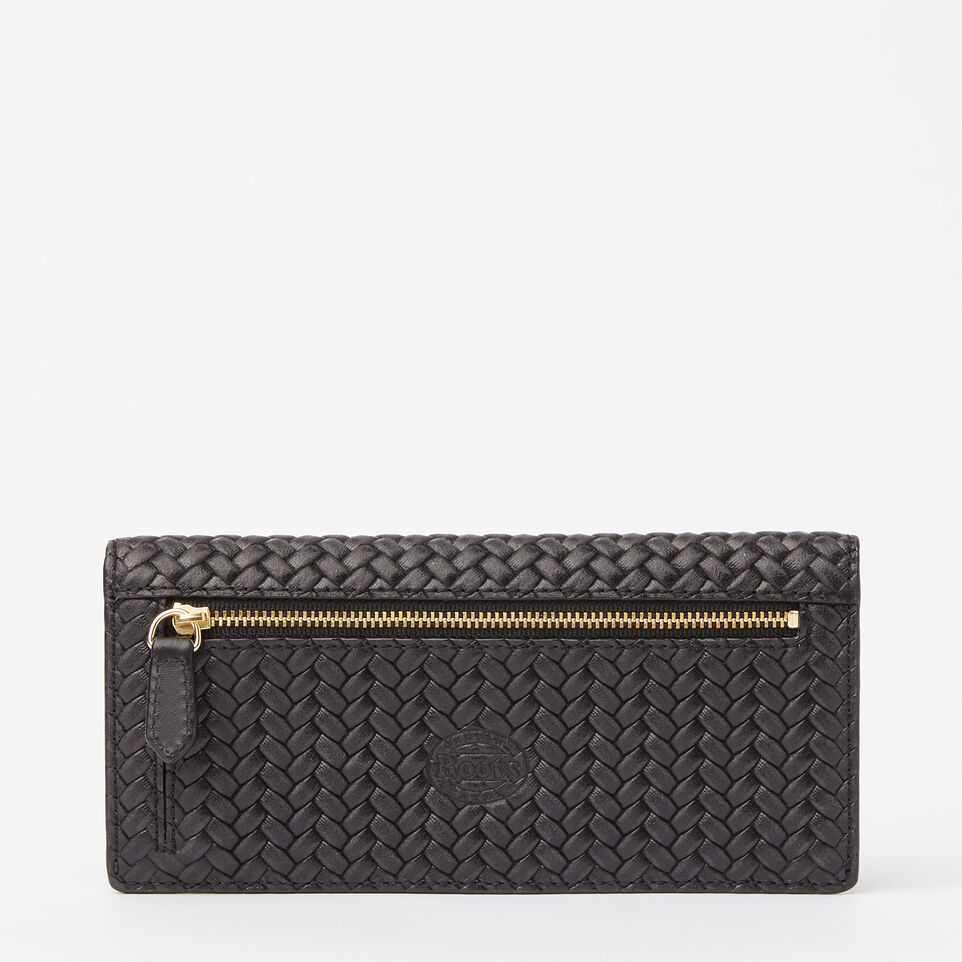 Roots-undefined-Slim Curve Wallet Woven-undefined-C