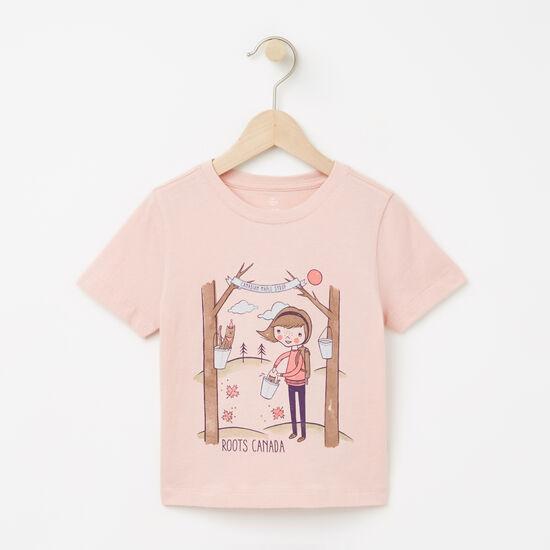 Toddler Ella Maple Festival T-shirt