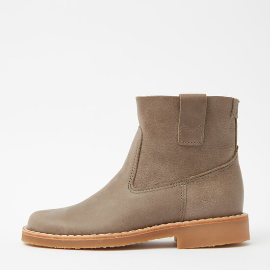 Roots-Shoes Boots-Shorty Boot Tribe-Taupe-A