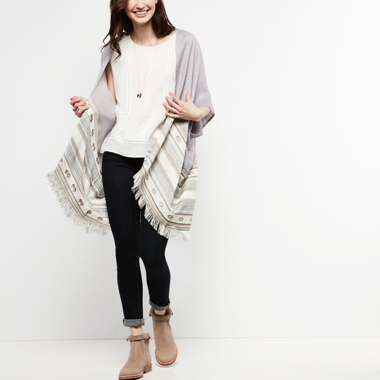 Roots-Women Scarves & Wraps-Sandy Cove Kimono-Multi-A
