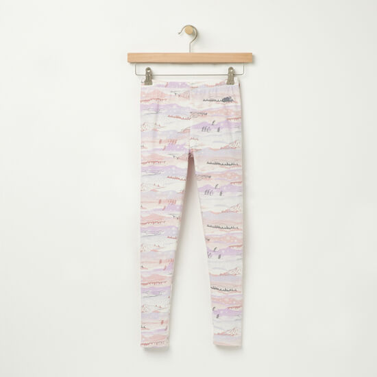 Roots-Kids Bottoms-Girls Baffin Legging-Cloudy White-A