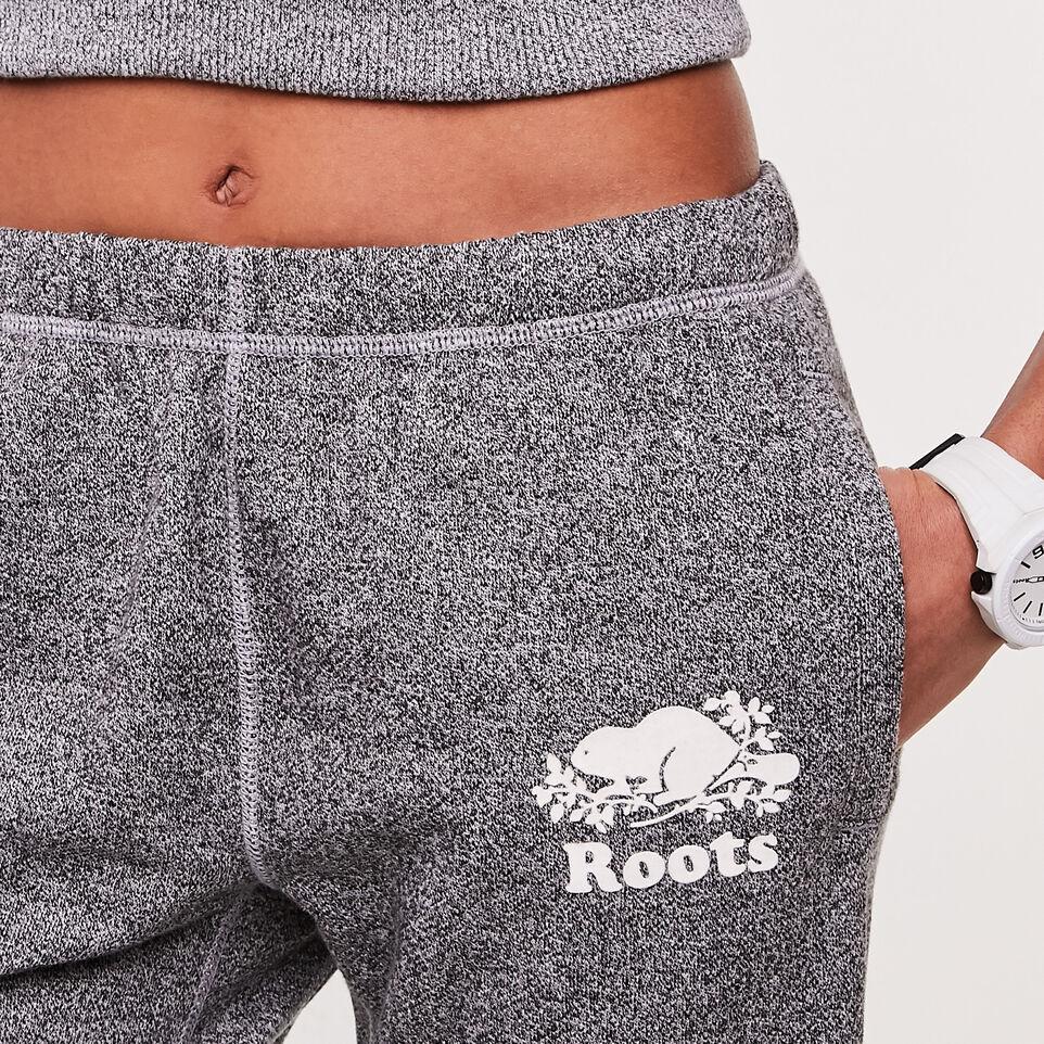 Roots-undefined-Pantalon en coton ouaté original sel et poivre Roots Court-undefined-B