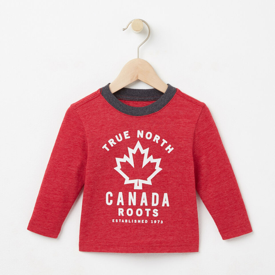 Roots-undefined-Bébés T-shirt True North-undefined-A