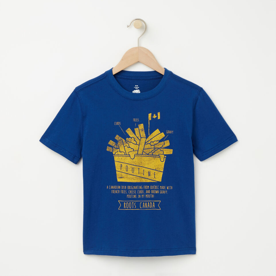 Roots-undefined-Garçons T-shirt Poutine-undefined-A