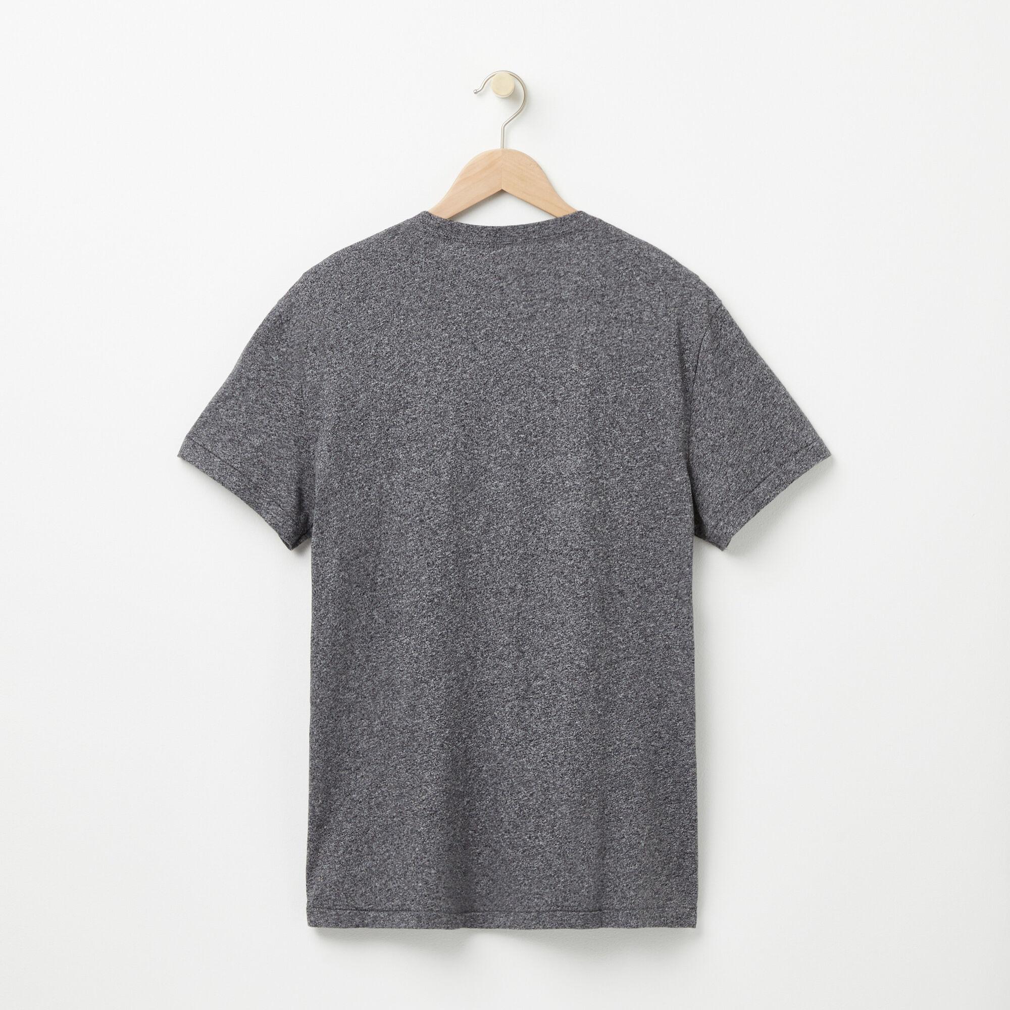 Nveau T-shirt Poche Et Drapeau