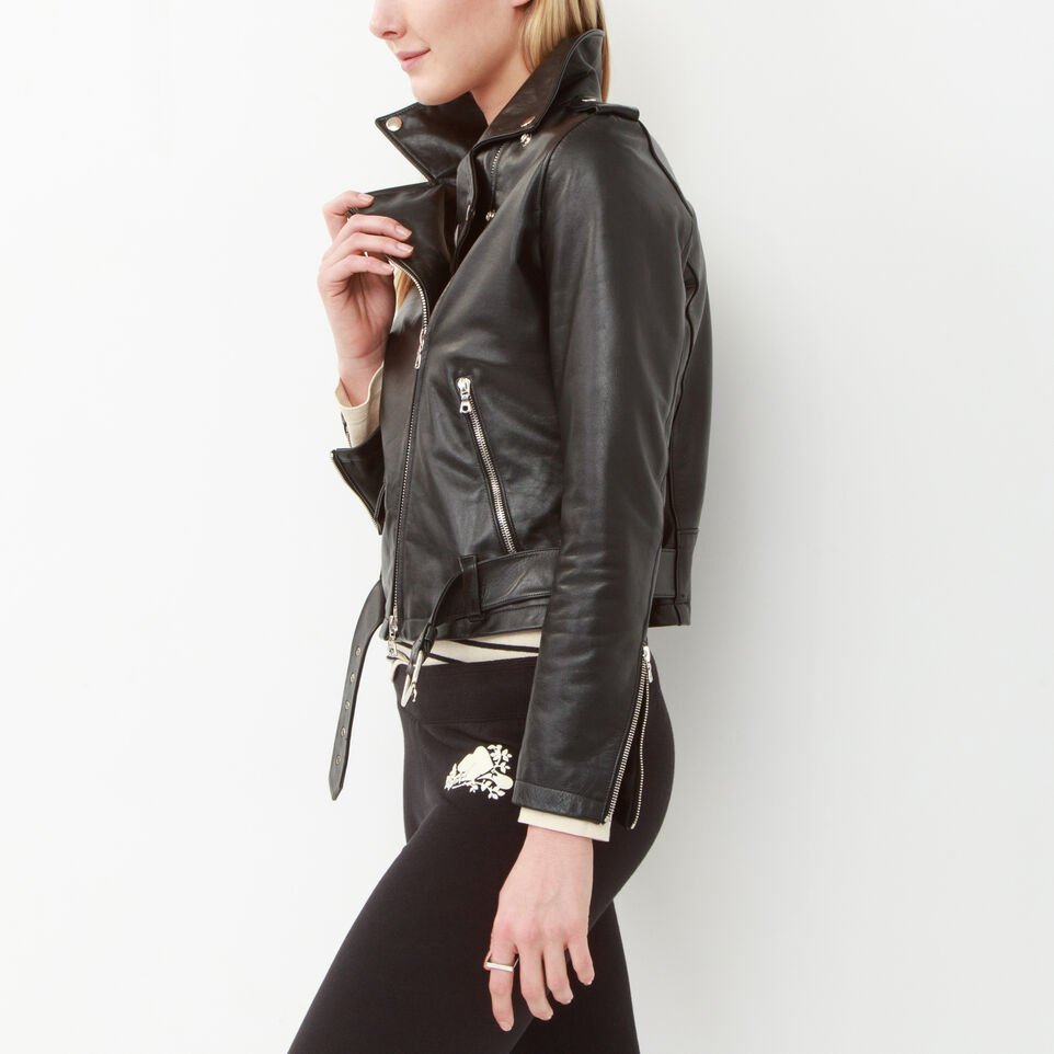 Roots leather jackets