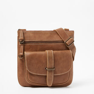 Roots - Sac Side Saddle Cuir Tribe
