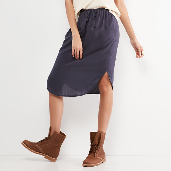 Roots-Women Shorts & Skirts-Calla Skirt-Ombre Blue-A