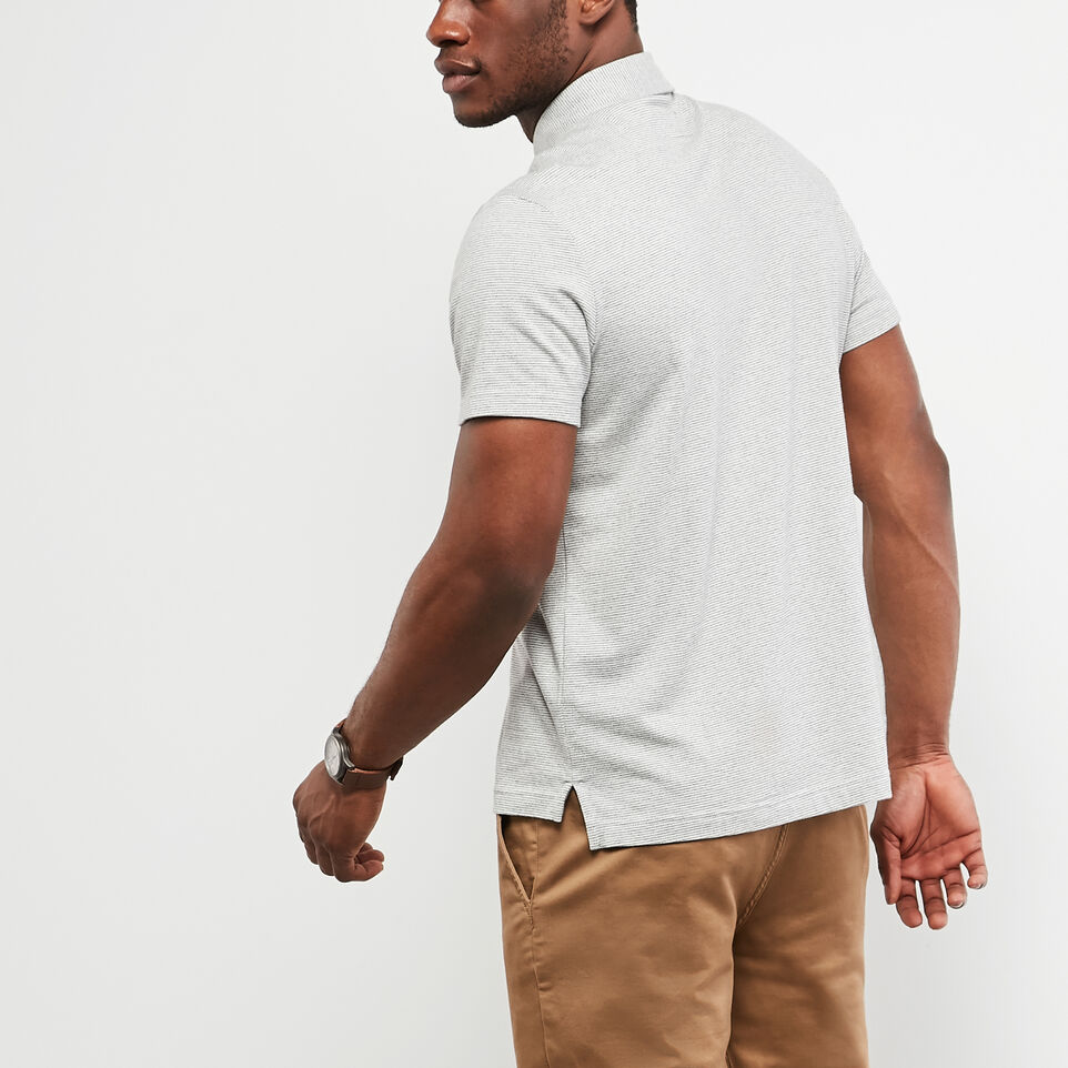 Roots-undefined-Cedar Striped Jersey Polo-undefined-D