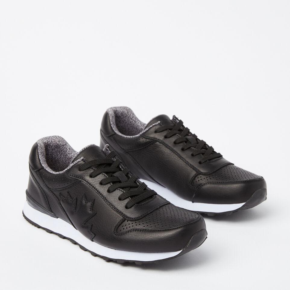 Roots-undefined-Chaussures de course Trans-Canadian en cuir pour hommes-undefined-B